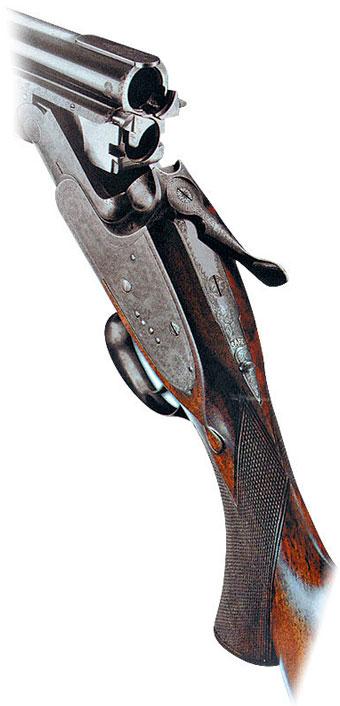 Бокфлинт английской фирмы «Босс», изготовленный в начале века, воспроизводился многими европейскими фирмами.