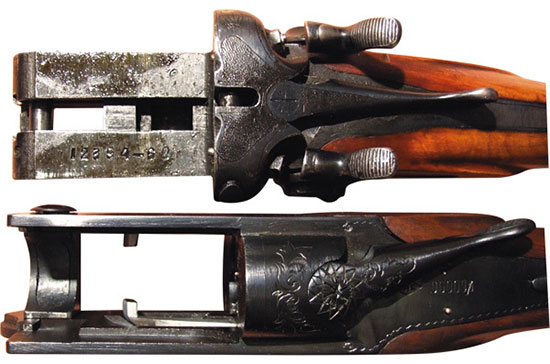 Колодки ружей ТОЗ-БМ (сверху), ТОЗ-200 (снизу). Почти полвека разделяет эти модели