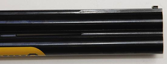 Стволы В725 изготовлены по технологии сверловки Back-Bored&Vector Pro с внутренним диаметром 18,7 мм.