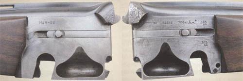 Боковые плоскости ствольной муфты МЦ8 имеют довольно значительную площадь контакта с колодкой, что способствует высокой прочности и долговечности соединения ствольного блока с колодкой