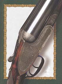 В конце XIX века с созданием лёгкого бескуркового ружья с доковыми замками, в целом, завершился переход к современной конструкции двустволки. Бескурковое ружьё компании «Э. Д. Черчилль», Лондон, конец XIX века