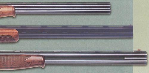 Ружья для спортивной стрельбы почти всегда выпускаются с «вентилируемыми» прицельными планками. Для более быстрого охлаждения ствольного блока при частой стрельбе на некоторых моделях межствольные планки также делают вентилируемыми, либо обходятся без них