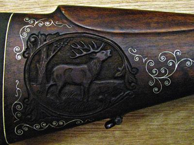 Ружьем штучного изготовления может гордиться не только охотник, но и коллекционер.