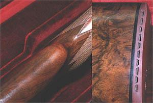 Асссиметричная шейка ложи удобна для стрелка. Резиновый амортизатор и прокладка позволяющая изменять длину ложи