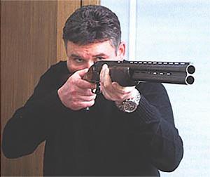 Форма ложи очень удобна для быстрой стрельбы
