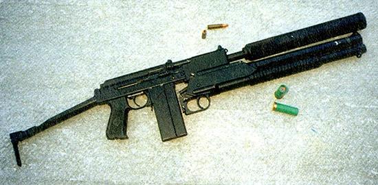 Масса спарки 9А-91–РМБ-93 без патронов и глушителя 3,8 кг; столько же весит пистолет-пулемет UZI
