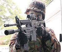 Американское боевое гладкоствольное ружье XM-26