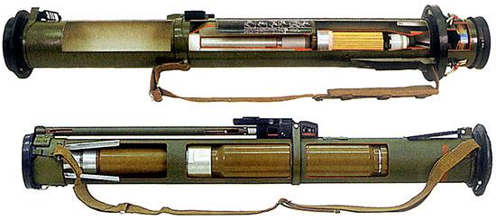 Реактивные штурмовые гранаты РШГ-1 и РШГ-2