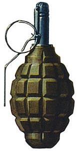 Ручная граната оборонительная Ф-1