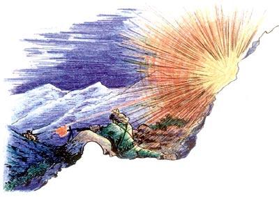 Для подавления огневых точек моджахедов в условиях высокогорья применялась маленькая хитрость – ведение огня несколько выше укрытий, расположенных на склонах гор, с учётом поражения противника осколками и взрывной волной разорвавшейся гранаты