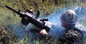 Стрельба из автоматического гранатомета АГС-30