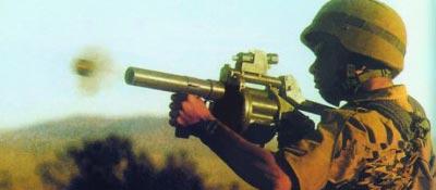 Стрельба из 40-мм ручного гранатомета MGL 6