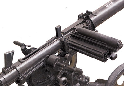 Магазин на пять гранат 40,8-мм гранатомета
