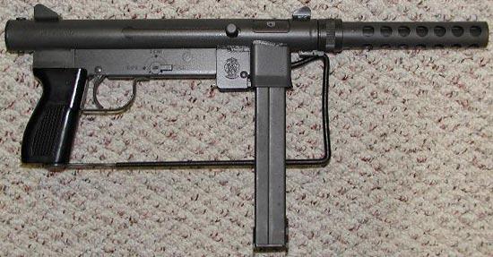 Пистолет-пулемет SW 76