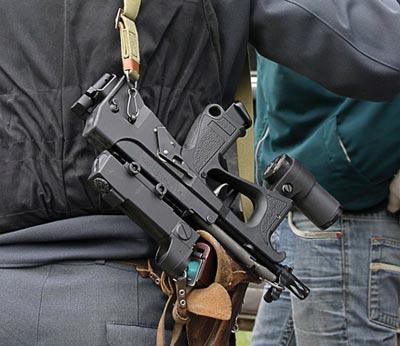 Самый компактный российский пистолет-пулемет «ПП-2000», принятый на вооружение правоохранительных органов России