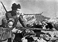 Огонь пехоты при наступлении в горах