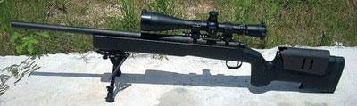 Штатная винтовка Корпуса морской пехоты США Remington M40A3