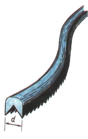 Пилка для нанесения насечки, сделанная из отвертки