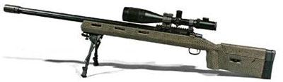 Перспективная винтовка СВЛ калибра .408. В таком калибре винтовки в Европе никто, кроме Лобаева, не делает