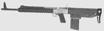 Бельгийская 7-мм штурмовая винтовка «Прототип номер 3» (1951 год), созданная в рамках разработки знаменитой винтовки FN FAL