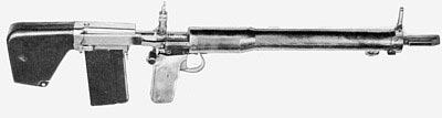 экспериментальная винтовка Джона Гаранда Т31 под патрон .30-06