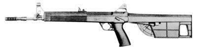 Шведская микрокалиберная (4.5 мм) винтовка Interdynamic MKR – один из идейных предшественников современного оружия класса PDW