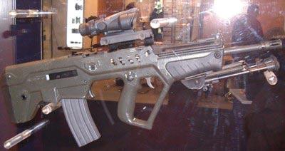 Израильский автомат Tavor TAR-21