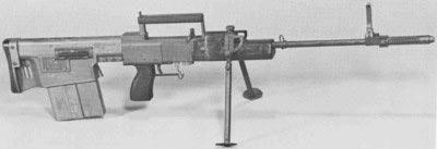 Прототип системы SPIW Спрингфильдского арсенала с тандемным магазином большой емкости. Средина 1960-х годов