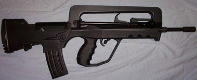 Модификация французской штурмовой винтовки FAMAS – вариант G2