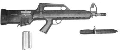 Бразильская винтовка LAPA FA Modelo 03