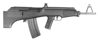 Экспортный вариант финского буллпапа Valmet 82 под патрон 5.56х45 мм