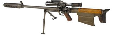 12.7-мм винтовка КСВК Российского производства