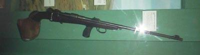 Одна из первых охотничьих винтовок схемы буллпап, созданная британской фирмой Ригби в единственном экземпляре после Первой Мировой Войны