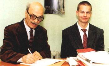 Юрий Александрович Нацваладзе и Сергей Цветков