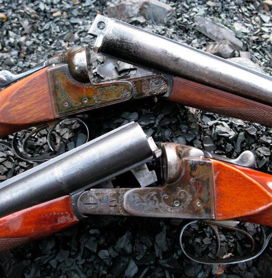 Цветная калка на отечественных ружьях. Настоящая или имитация?