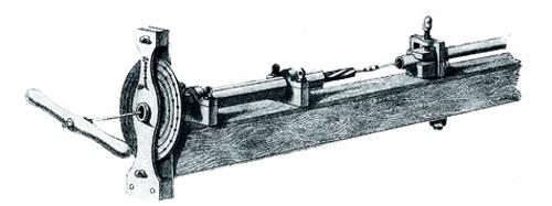 Примитивный станок для производства нарезных стволов.