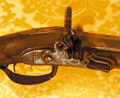 Центральная часть спортивной винтовки Гребенникова.