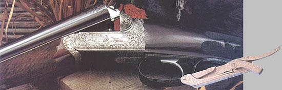 Для двустволок Westley Richards, выпущенных после 1897 года, характерны извлекаемые замки «Энсон-Дили», которые в Соединенных Штатах получили название «Droplocks»