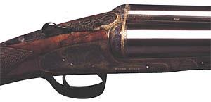 Илл 4. Спортивная двустволка фирмы Henry Atkin с односпусковым неселективным УСМ Босса механического типа