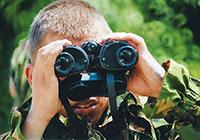 Бой глазами: побеждает тот, кто видит