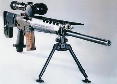 5,56-мм швейцарская снайперская самозарядная винтовка SG 550