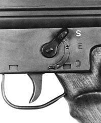 Флажок предохранителя-переводчика штурмовой винтовки G.3
