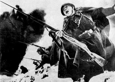 В атаку. Зима 1941 г.