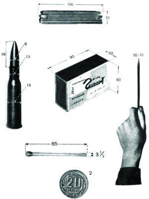 Предметы, по которым снайпер может измерять углы