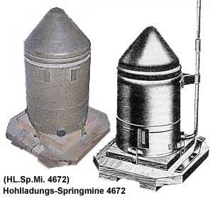 Hohlladungs-Springmine 4672 (HL.Sp.Mi. 4672)