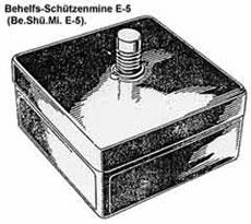 Behelfs-Schuetzenmine E-5 (Be.Shue.Mi. E-5)