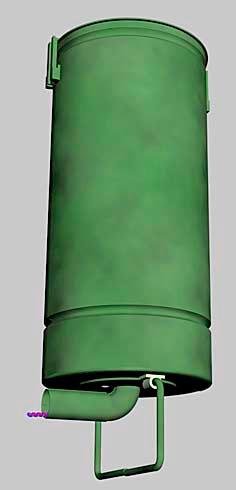 Большой шрапнельный фугас