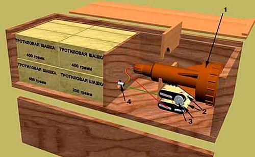Противотранспортная мина МЗД-2