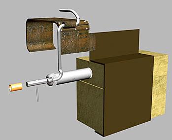 Противотранспортная партизанская мина (вариант 1)