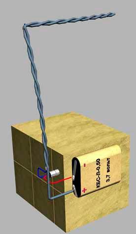 Противотранспортная партизанская мина c замыкателем КЗ